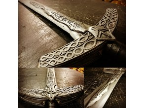 Ludwig's holy blade - tracery of small sword (Bloodborne)