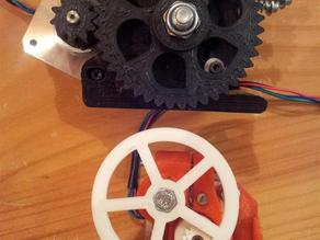 dApA mini extruder for Prusa Mendel printer Ref. ifala and Bowyer