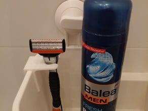 Cliphalter für Rasierer / Clip Holder for razor
