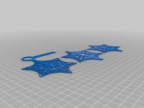 My Customized Blizzard of , Mailable Snowflake Ornaments UPDATED 4x