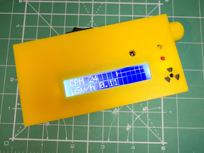 Enclosure for new SMD-based geiger counter by impexeris for SBM20 and STS-5 tubes
