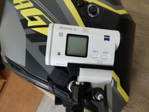 Gopro mount adapter for Sony HDR-AS200V Action Camera