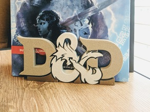 D&D Bookend