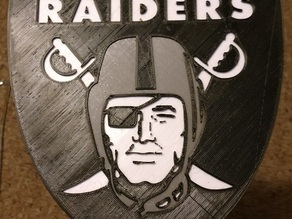 Raiders Three Tone Logo