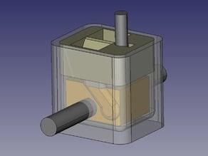 E3D-V6 Silicone cover Mold