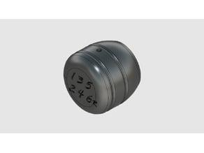 Shift knob 6 speed