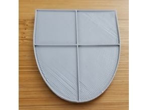 Coat of Arms Shield Blank