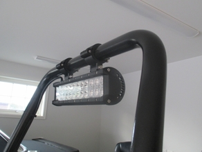LED Light Mounting Bracket For Terrengen Wheelchair
