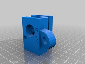Anet A6 diagonal supports
