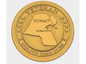 Operation Desert Storm Coin/Medal