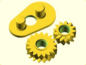Demo Set for: Parametric Involute  Bevel and Spur Gears