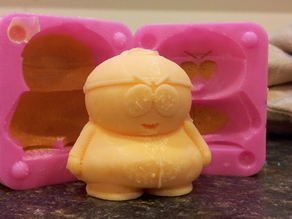 Mold for Cartman from Southpark
