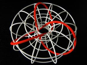 Trefoil torus knot