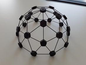 Carbon rod mini-dome
