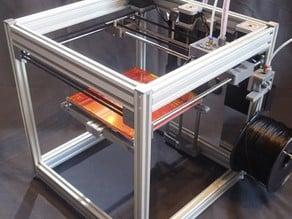 T-Bot Core XY Printer  without any cross belt. Next generation