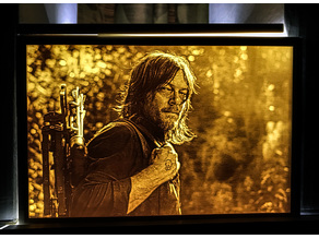 The Walking Dead / Daryl Dixon lithophane
