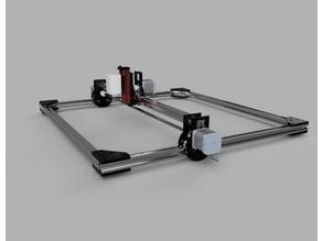 Simple XY laser engraver