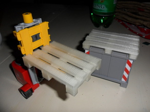 Playmobil size europalette