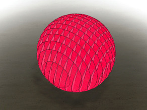 LaserCut - 3D Puzzle Paperball