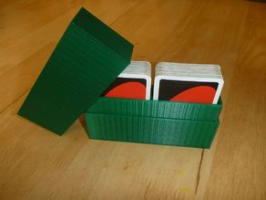 Simple case for 2 sets of playing cards