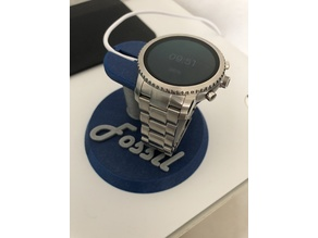 Stand charge montre connectée Fossil Q