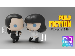 Pulp fiction Vincent and Mia