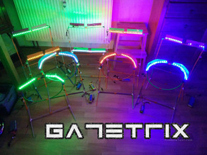 GATETRIX V1 / LIGHTRIX V1 modular gate system for Tiny Whoop