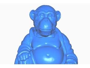 Monkey (Chimpanzee) Buddha
