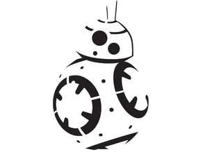 BB8 stencil 2