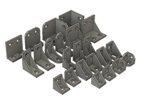 Corner Brackets For System20 2020 / 2040 Extrusion