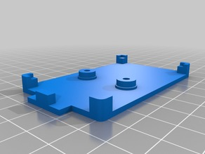 Case foundation basement holder for 35W USB DC load resistor electronic adjustable discharge 18650 resistance battery capacity tester