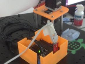 Arbotix controller mount for turtlebot or turtlebot 2