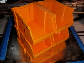 Mini Stacking Box Storage Bin