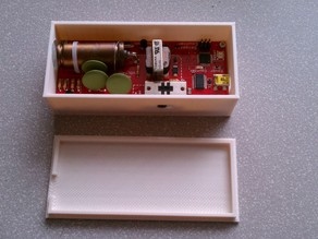 SparkFun Geiger counter case