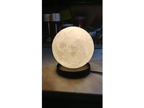 Moon lamp base