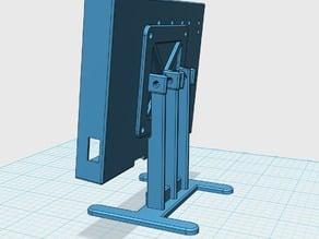 "Desktop stand for 5"" LCD panel frame"