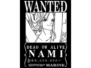Wanted Poster Nami