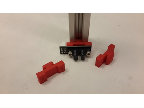 Optical Endstop mount on profile 20x20