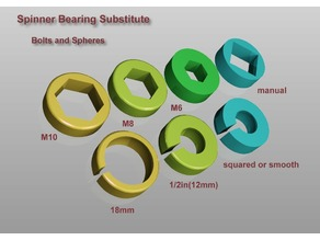 Spinner Bearing substitute
