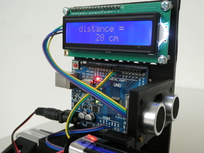 Ultrasonic experiments 8: Distance measurement with arduino