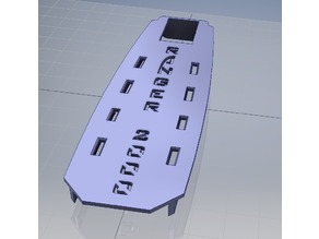 Volantex Ranger 2000 Battery Tray