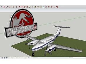 Jurassic Park 3 Plane