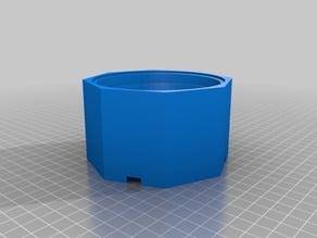 Yogurt / quark cup protective case