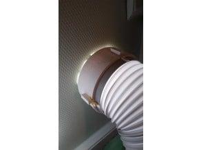 Suntec airconditioner hose adapter to 150mm system