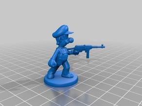 Luigi Zombicide Miniature