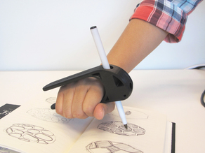 Palm Pen Holder