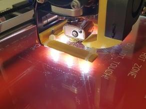 Geeetech prusa I3 aluminium mk8 led strip support