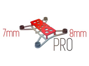 Racing Drone Frame PRO (7/8mm motors version)