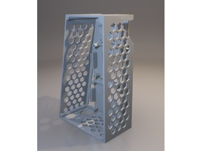 Anet A8 Mosfet Case - Remix for T Corner Brace