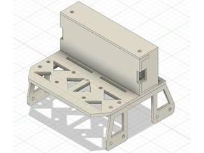 HPI Montageplatte mit Box